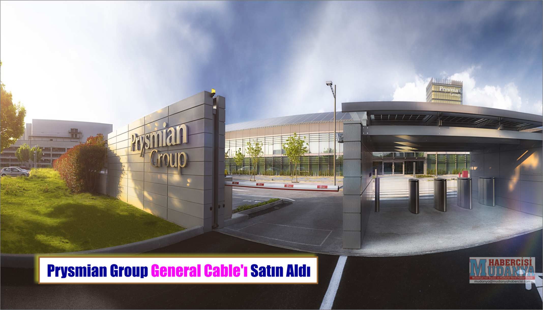 PRYSMİAN GROUP GENERAL CABLE'I SATIN ALDI