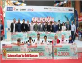 SCİENCE EXPO'DA ÖDÜL ZAMANI